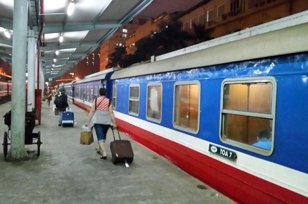 Mit dem Nachtzug von Hanoi nach Hue