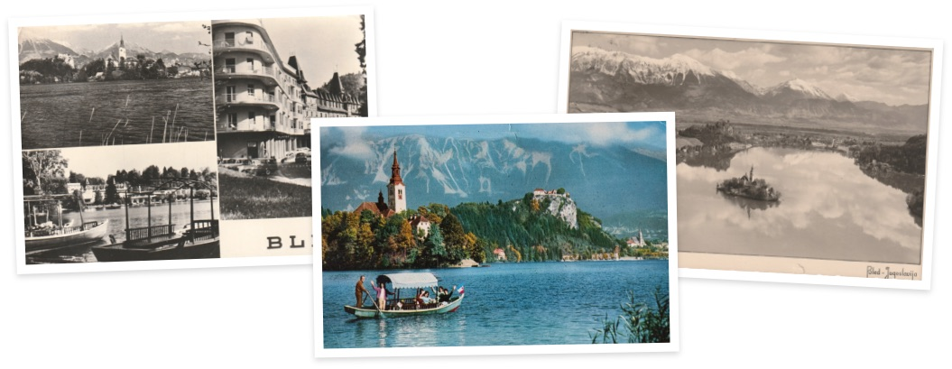Kurort Bled - historische Postkarten