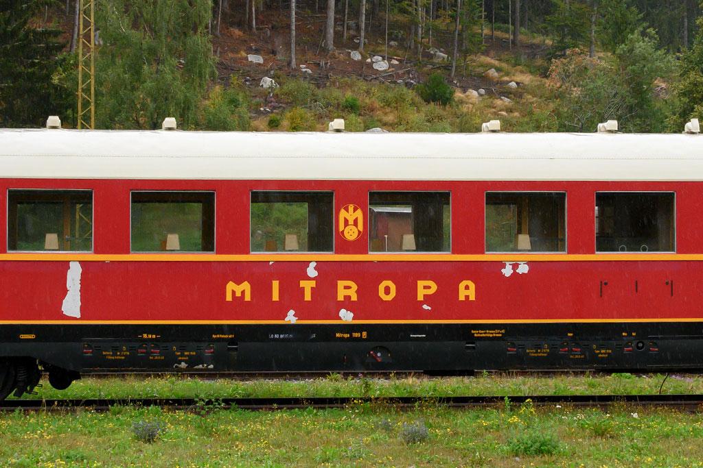 Historischer Speisewagen MITROPA