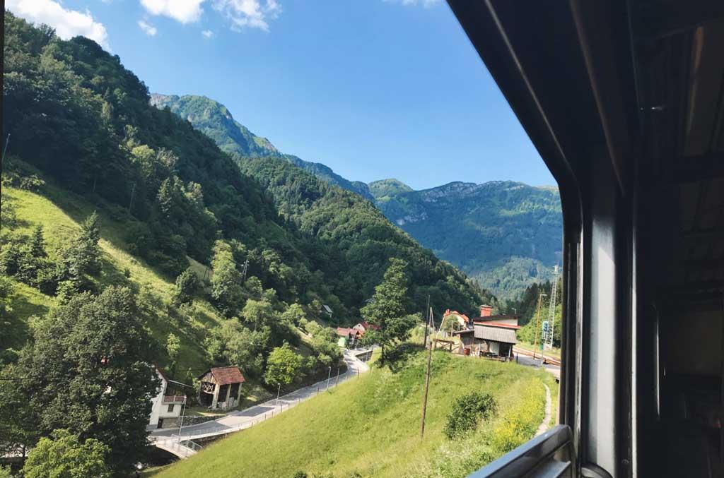 Wocheiner Bahn Slowenien