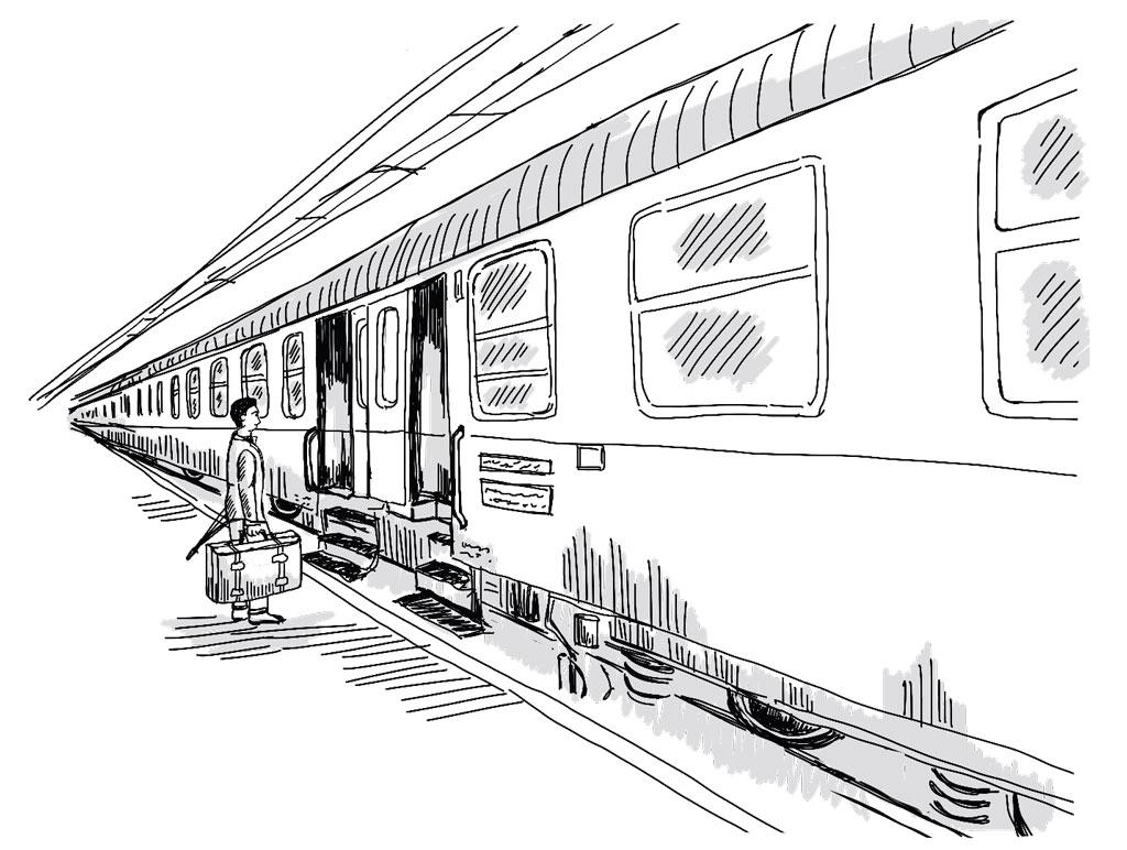 Der Passagier - Zugreisen