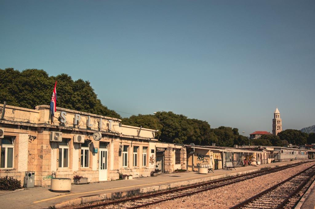 Bahnhof Split Kroatien