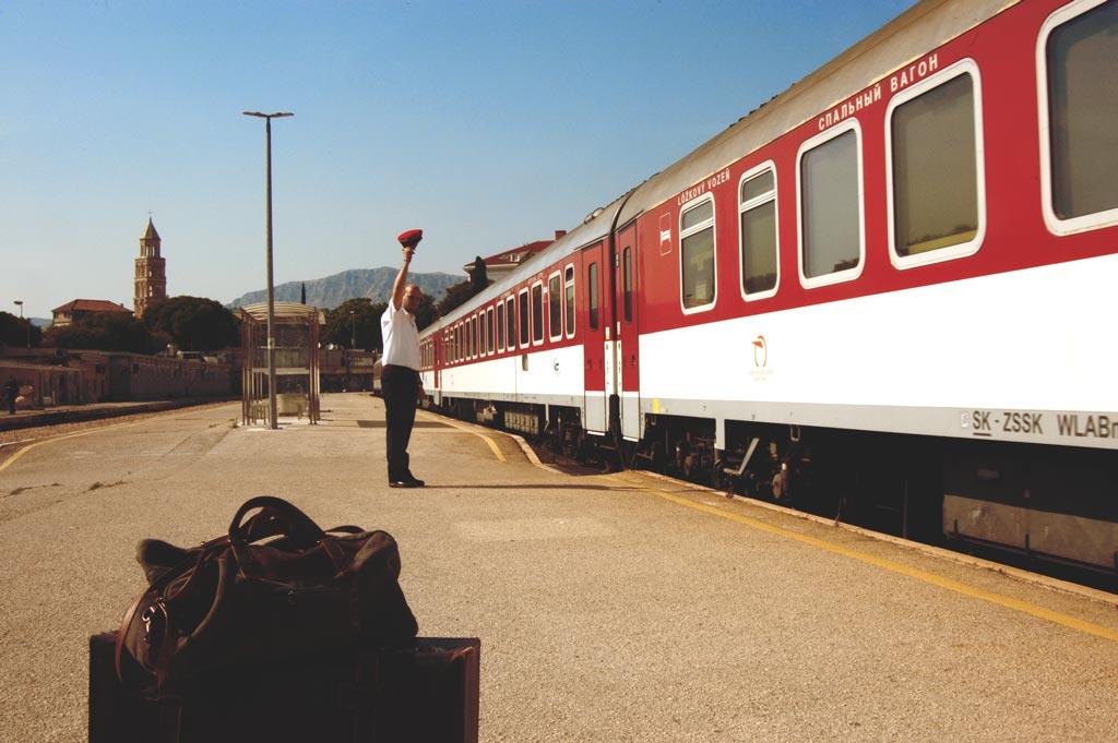 Mit dem Nachtzug nach Bratislava