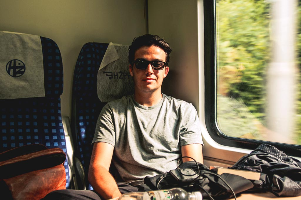 Begegnungen im Zug nach Split