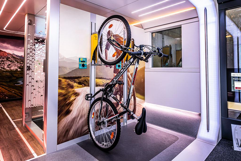 DB Ideenzug - Fahrradmitnahme