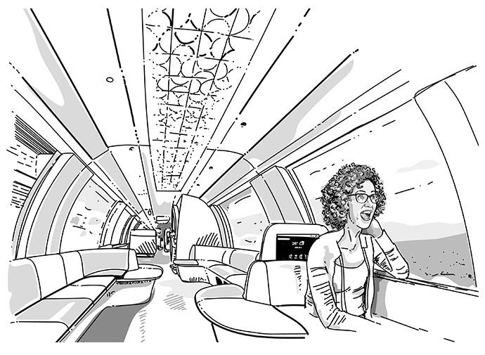 Passagier - Zug der Ideen